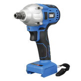 20V 350N.m Cordless Impact Wrench Driver Brushless 1/4'' Li-ion LED Light Body
