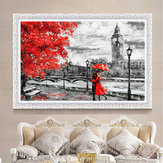 Unframed London Big Ben Lover Canvas Paintings Print Home Wall Picture Home Decor