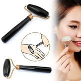 Black Nature Healthy Stone needle Massage Beauty Jade Facial Massager Roller Accessories