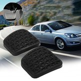 Pair Of Brake Clutch Pedal Pad Rubber Cover For Opel