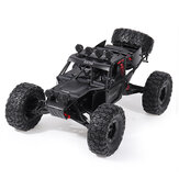 Eachine EAT04 1/12 2.4G 4WD Pennello Rc Car Metal Body Shell Desert Off-road Truck RTR Toy Nero