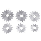 420 10/12/13/14/15/16 Tooth Front Sprocket 17mm For 70cc 110cc 125cc Pit Dirt Bike Replacement Accessories