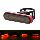 XANES® Wireless Remote Control Turn Signal Warning Bike Light USB Rechargeable Waterproof 4 Modes Cycling Rear Light Direction Indicator Lamp
