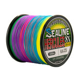 8 żyłek Pleciona żyłka 500m Multi Color Super Strong Multifilament PE Braid Line 10LB 20LB 30LB 40LB 100LB 200LB