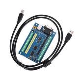 التصنيع باستخدام الحاسب الآلي مراقبة وحدة 5 محور MACH3 وحهة المستخدم مجلس USB آلة الحفر 5 محور مع MPG السائر موتور الحركة مراقبةler