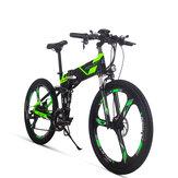[Direto da UE] RICH BIT TOP-860 12.8AH 36V 250W 26 polegadas Bicicleta motorizada dobrável 35 km / h Velocidade máxima 35-40 km / h Quilometragem Ciclismo Mountain Bike