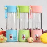 380ml Electric Fruit Juicer Maker Bottle Cup Handheld USB Rechargeable Fruit Blender