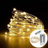 7M IP65 8 trybów USB 50LED Fairy String Light na zewnątrz Indoor Garden Holiday Party Wedding