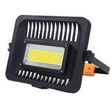 IPRee® SL10 80W LED COB Рабочий свет 3 режима Кемпинг Свет 2200LM Аварийный фонарь Фонарик Прожектор с вилкой Штатив EU