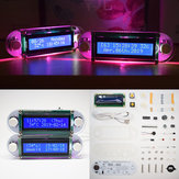 Geekcreit® DIY Candlelight Effect LCD1602 Vibrační DIY Clock Kit