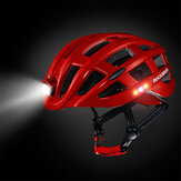ROCKBROS Fietshelm Fiets Waterdicht Licht Voor Road MTB Bike USB Opladen