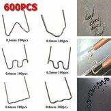 600pcsgraffettecaldepretagliatestandarddi 0.6 / 0.8mm per i saldatori di riparazione dell'automobile della cucitrice meccanica di plastica