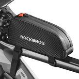 ROCKBROS Telaio anteriore bici Borsa Impermeabile Anti Bicicletta antiurto a pressione Borsa Ciclismo Borsa