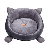 Plush Soft Warm Pet Dog Cat Deep Sleeping Mat Bed House Winter Lounger