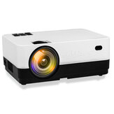 Projetor HQ2 LCD 500 Home Theater ANSI Lumens 720p Mini