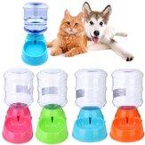 3.5L Large Bottle Automatic Pet Drink Dispenser Dog Cat Feeder Waterer Bowl Dish