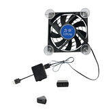 Universal Mini 2 Port USB Seven Fan Cooling PUBG Radiator Gamepad Mobile Phone Tablet Cooler with Suction Cups