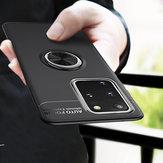 BakeeySuportedeanelmagnéticorotativo de 360º Soft TPU de proteção à prova de choque Caso para Samsung Galaxy S20 + / Galaxy S20 Plus
