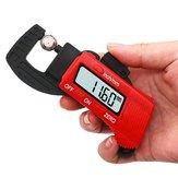 Drillpro 0-12.7mm Caliper Carbon Fiber Composites Digital Thickness Caliper Micrometer Gauge