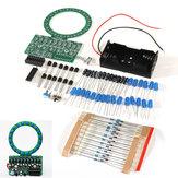 3pcs DIY Gradient LED Flash Light Production Kit Electronic 4017NE555 Soldering Training Parts