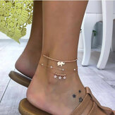 Trendy Three-layer Female Anklet
