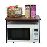 Estante de cocina Estante de microondas Cocina de arroz Horno Soporte de almacenamiento