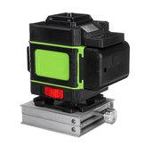 Display LED LD Luz Verde Laser Nível 3D 360 ° 12 Linha Cruz Auto Ferramenta de Nivelamento Medida