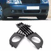 Front Low Bumper Fog Lamp Light Grille Grill For Audi A6 C5 2002-2005