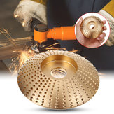 85x16mm Golden Wood Carving Disc Wood Grinding Wheel Rotary Tool Abrasive Sanding Disc