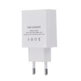 EU QC 3.0 18W USB Charger Power Adapter for Tablet Smartphone