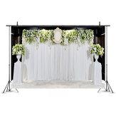 5x3FT 7x5FT 4 soorten bruiloft Thema Bloem Fotografieachtergrond Achtergrond Studio Prop