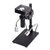 HAYEAR 41MP 2K 1080P 60FPS HD USB2.0 Video digital electrónico industrial Soldadura Microscopio Cámara Lupa con soporte para teléfono Reparación de PCBTHT