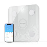 BlitzWolf® BW-SC1 WiFi ذكي Body Fat Scale التطبيق مراقبة BMI Analysis Data with 13 Body Metrics رقمي وزن Scale