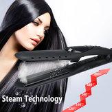 Electric Tourmaline Ceramics Steam Hair Straightener Brush Comb Iron