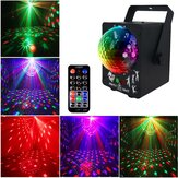 18W LED RGB Stage Projector ضوء Lamp DJ Club Disco Party with التحكم عن بعد مراقبة