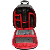 À prova de choque resistente à água Travel Carry Camera Bolsa Mochila para Canon para Nikon DSLR Camera Tripod Lens Flash