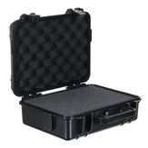 280x210x96mm ABS Waterproof Storage Box Compartment Portable Hiking Travel Tool Carrying Case