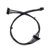 45см Mini 6Pin 1 на 2 15Pin SATA Кабель адаптера жесткого диска Удлинитель адаптера питания Провод