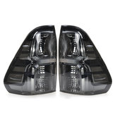 Car Rear Left/Right Tail Brake Light Assembly With Wiring Smoke Black For Toyota Hilux Revo 2015-Up