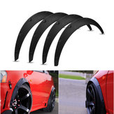 4Pcs 2 Inch / 50mm Universal Flexible Coche Llanta Fender Flares Extra Wide Body Wheel Arches