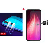 For Xiaomi Redmi Note 8 Bakeey Anti-Explosion Tempered Glass Screen Protector + 2PCS Anti-Scratch Phone Lens Protector Non-original
