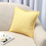 45x45 cm Keten Atmak Yastık Kılıf Minder Kapak Koltuk Kanepe Kılıf Ev Yatak Odası Dekorasyon