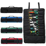 Portable Oxford 22 Pocket Tool Roll Spanner Wrench Fold Up Tool Storage Bag