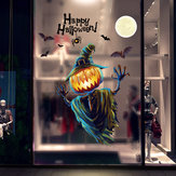 Miico XL626 Cartoon Sticker Halloween Sticker Pompoen Muursticker Kamerdecoratie