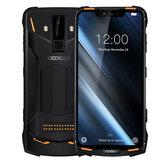 DOOGEE S90C Küresel Bantlar IP68 Su Geçirmez 6.18 inç FHD + NFC 5050mAh 16MP + 8MP AI Çift Arka Kameralar 4GB 64GB Helio P70 4G Akıllı Telefon