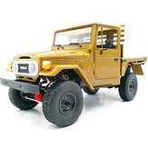 WPL C44KM Metal Edition Unassembled Kit 1/16 4WD RC Car Off-Road Vehicles with Motor Servo