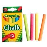 Crayola 12 stuks Niet-stof Niet-giftig Krijt Diverse kleuren Schoolbord Schrijven Tekening Pen School Kantoor Leermiddelen