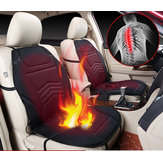 Universal  Car Auto Heated Seat Cushion Cover Pad Warmer Winter Autumn Double-Seat Black 12V