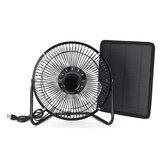 10W لوحة للطاقة الشمسية بدعم مروحة RV بجولة سيارة التخييم الحيوانات الأليفة بيت الدجاج التنفس الصناعي