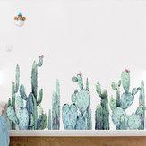 Miico FX82028 2 PCS Adesivos de Parede Dos Desenhos Animados Plantas de Cacto Impressão Adesivo Quarto de Crianças E Jardim de Infância Adesivo Decorativo
